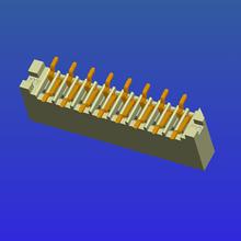 1.0mm間距B型單面接立貼無鎖式FPC